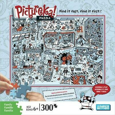 Pictureka Puzzle by Parker Brothers - Space Setting  Item No. 04470-02