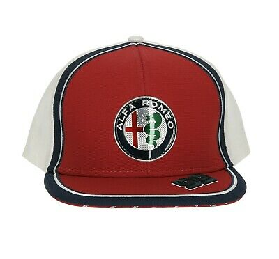 Alfa Romeo Racing Official Kid's Giovinazzi Flatbrim Cap - 2019