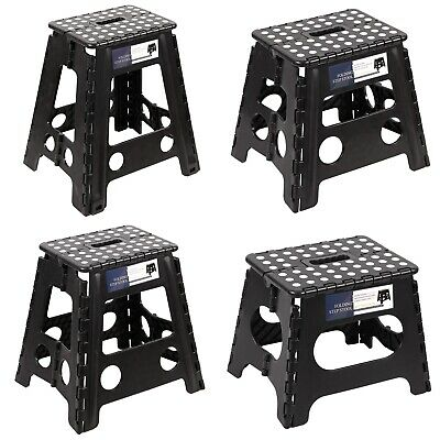 Terrific Rubbermaid Rm Pl1W Folding 1 Step Plastic Stool 300 Pound Pabps2019 Chair Design Images Pabps2019Com