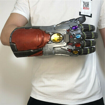 Avengers: Endgame Iron Man Ringing Finger  Infinity Gauntlet Glove Cosplay Props
