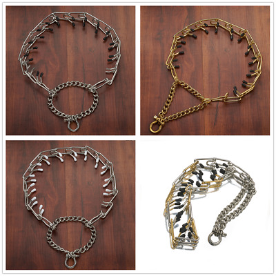 28MM Fashion Pet Dog Collar Stainless Steel Flexible Chain Dog Choker22''+6''