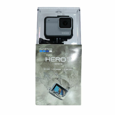 NEW GoPro HERO7 WHITE Touchscreen 10MP Waterproof 10m CHDHB-601 - FREE SHIPPING