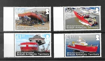 British Antarctic Territory 2018 NEW ISSUE RRS Sir David Attenborough  MNH