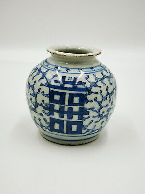 Antike China Vase Aus Porzellan
