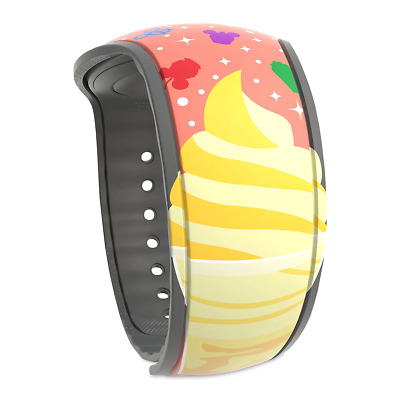 Disney Parks Food MagicBand Citrus Swirl Dole Whip Snacks Pizza 2019 UNLINKED