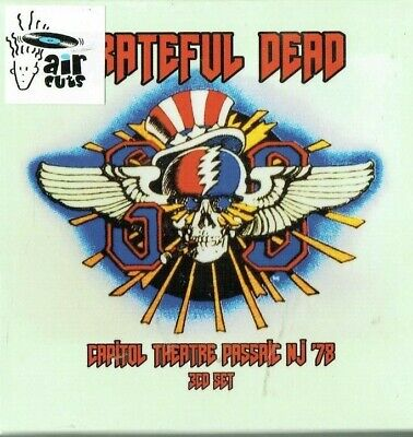 GRATEFUL DEAD - Capitol theatre Passaic NJ 1978 ( 3cd Box set / New & sealed)