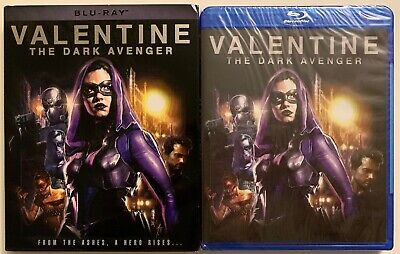 New Valentine The Dark Avenger Blu Ray + Slipcover Sleeve Free World Wide Shipin