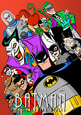 "BATMAN THE ANIMATED SERIES 11""x17"" POSTER PRINT #6"