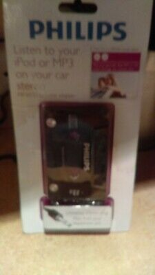 Nip Philips Listen To Your Ipod Or Mp3 On Your Car Stereo Mp3/Cd Cassette Adapte