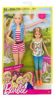 Barbie Sisters Barbie & Stacie Dolls, 2 Pack Brand New Fast Postage