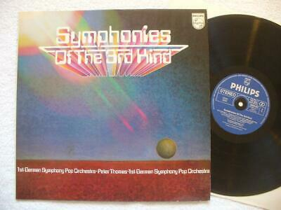 "PETER THOMAS ""SYMPHONIES OF THE 3rd KIND"" RARE 1980 GER ORIG. LP TOP MINT- SPACE"