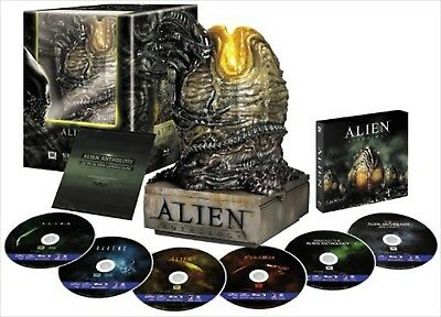 Aliens AnthologyJapanese original Collector's Box with Alien Egg Blu-ray NEW EMS