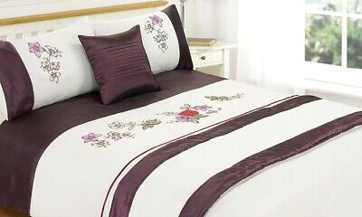 Laila Bed In a Bag 5-piece Duvet Set with Runner, Cushion Cover, by Rapport Home