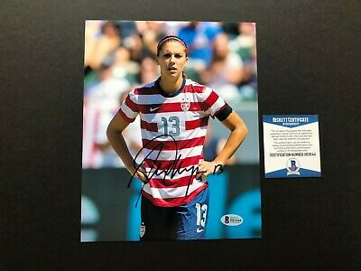 d9768e33e6f Alex Morgan Hot! signed autographed USA soccer 8x10 photo Beckett BAS coa