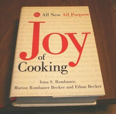 The All New All Purpose Joy Of Cooking Irma S. Rombauer 1997