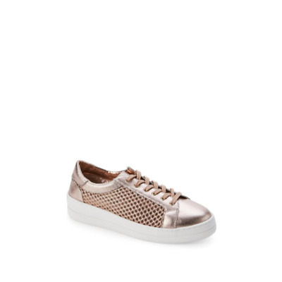 b1a77268125 STEVE MADDEN EXCUSE Perforated Metallic Sneakers, Women's Size 8M ...