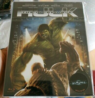 The Incredible Hulk -  Novamedia Full Slip Blu Ray Steelbook - 15/400 - New