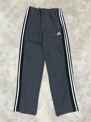 "Adidas Women/'s Climalite Black//White Track Sweat Pants S87551 Inseam 32/"" Size L"