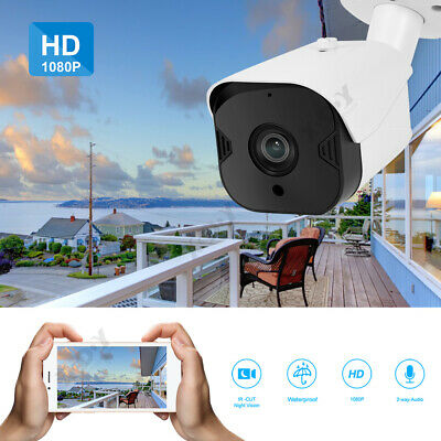 1080P HD Outdoor Security IP Camera Wireless Wifi Network CCTV IR Night Vision