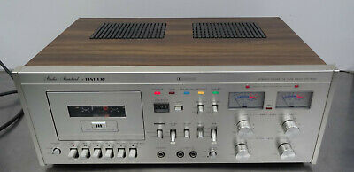 3 head tape deck Stereo Cassette tapedeck wood case FISHER CR-5120 1977-79