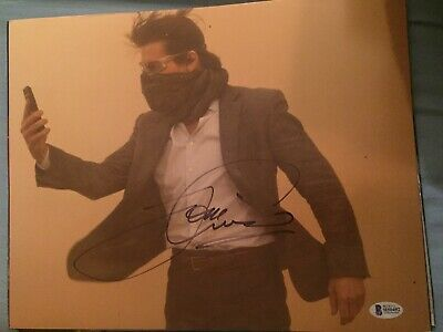 MISSION IMPOSSIBLE 4 MOVIE CAST SIGNED 11x14 PHOTO BECKETT