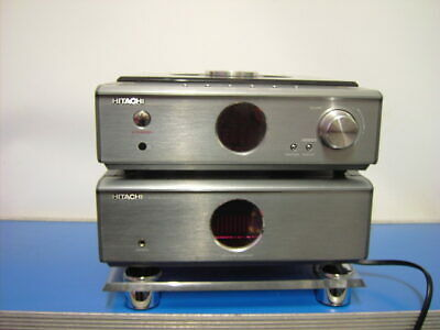 Hitachi Amp/Tuner/CD/MP3 Hi-Fi Component System Model AX-M69