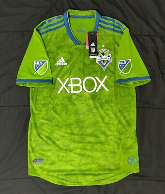 2ee521afa Adidas Seattle Sounders FC Men's Green Primary Authentic Jersey MSRP $120  Size M