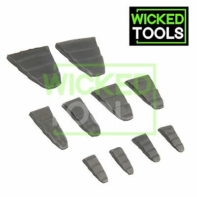 10pc Hammer Wedge Set Fits Hammers Axes Picks Lumps Maul Heads Handles & Shafts