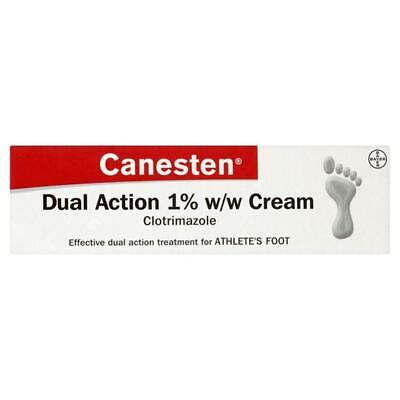 Canesten Clotrimazole Dual Action Cream Athlete's Foot and Jock Itch