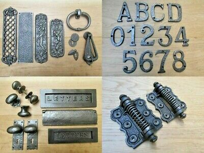 RUSTIC CAST IRON Door furniture main front entrance traditional Accessories