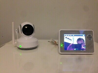 """Foscam 3.5"""" Pan Tilt Wireless Video Baby Monitor Used Free Postage"""