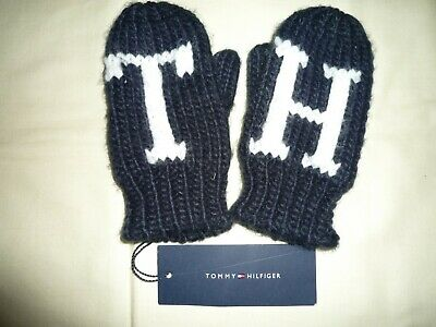 Tommy Hilfiger Gloves Mittens Girls And Boys Unisex Toddler Mini Authentic Bnwt