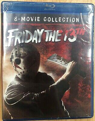 Friday The 13th 8-Movie Collection Set (Blu-ray, 2018) Brand New Sealed