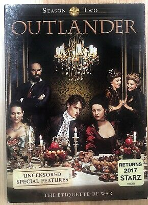 Outlander: Season Two 2 (DVD, 2016) Brand New Sealed W/Slipcover FREE SHIPPING