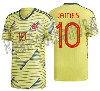 3c0adb378 ADIDAS JAMES RODRIGUEZ Colombia Home Jersey Copa America 2016 Patch ...