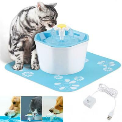 1.6L Pet Automatic Water Fountain Drinking Feeder Filter Core Activated Carbon