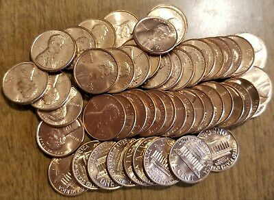 Roll of 1969 S Lincoln Memorial Cents Uncirculated Original Bank Rolls