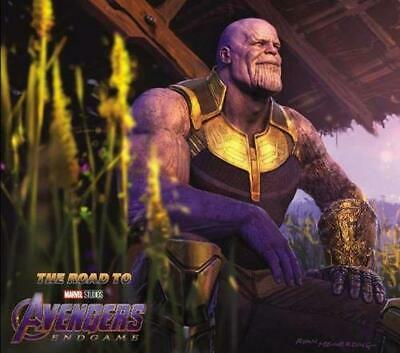 Road To Marvel's Avengers: Endgame - The Art Of The Marvel Cinematic Universe,