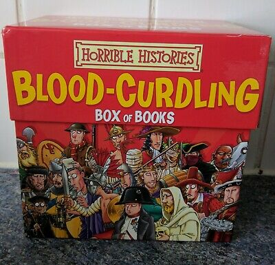 Horrible Histories: Blood-Curdling Box Paperback – Box set By Terry Deary