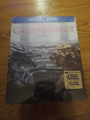 Game Of Thrones Blu Ray Seasons 1 - 7 New And Sealed Blu-Ray