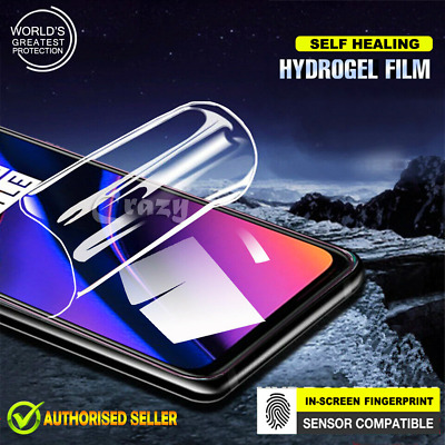 For OnePlus 6T SupRShield Hydrogel Full Coverage LCD Screen Protector Film Guard