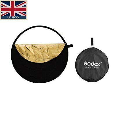 43'110cm 5 in1 portable folding round light Reflector flash accessories with bag