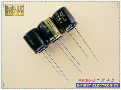 Panasonic 330UF 200V CEED AUDIO Grade Electrolytic Capacitors 4pcs// 10 pcs//20pcs