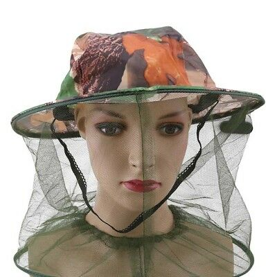Mosquito Bug Insect Net Bee Mesh Head Face Protect Fishing Hat SO