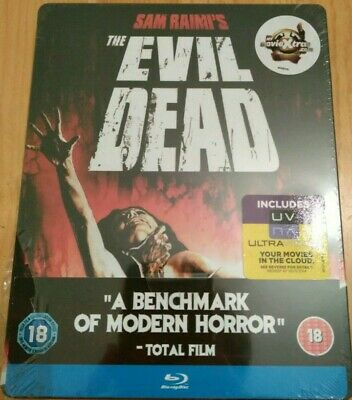 The Evil Dead - Zavvi Blu Ray UK Steelbook - NEW/Sealed - Ship's worldwide