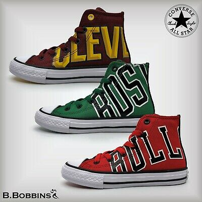 👟Converse NBA Chuck Taylor All Star Trainers Size UK 10 11 12 13 1 2 Girls Boys