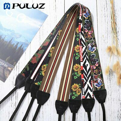 PULUZ Floral Printed Camera Neck Shoulder Camera Strap Belt for DSLR Cameras AZ