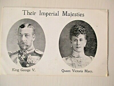 "Antique Old Collectable Royalty  Postcard 'Their Imperial Majesties"" FREEPOST"