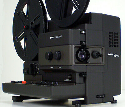 Super 8mm Film Projector Bauer T510 Stereo Studioklasse