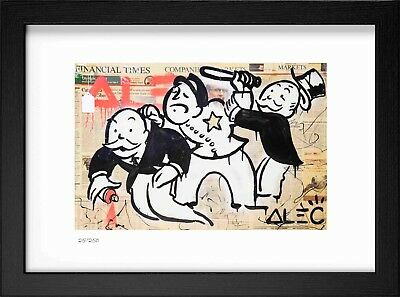 """ALEC MONOPOLY """"Bobby"""" Signed/Hand-Numbered Ltd Ed Litho Print (unframed) Repro"""